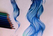Vlasy drawing