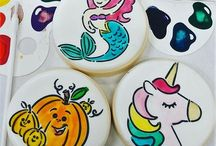 Paint-Your-Own (PYO) Cookies