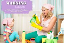 Non-toxic Cleaning Products / With so many all-natural, non-toxic cleaning products to use in the home, why would you ever want to use mainstream chemicals?