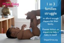 Diaper Drive / Ways to give back and help within your community