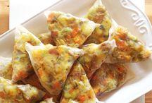 Rice paper samosa