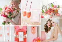 Inpiration wedding color boards