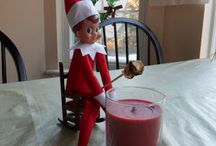 Elf on the shelf ideas!  / by Brittnay Johnson Shuster