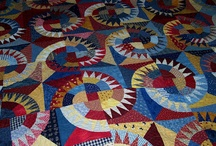 Quilts, Quilts and More Quilts / Quilts that I like...all styles...modern, civil war, art, graphic, batiks.... / by Robin Irvine