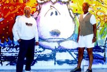 Tom Everhart, Peanuts Artist / A board dedicated to the work of artist Tom Everhart.
