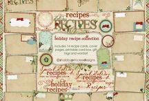 Recipe Books / by Marla Hafsos Damewood