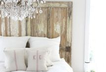 House ~ Bedrooms / My favorite room of my house is the bedroom. I want to feel calm, peaceful and relaxed. I want my guests to feel the same. / by Nancy Hood