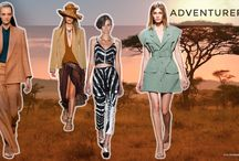 S/S 2015 Trends No. 2: Adventurers / Adventurers desert nomads and bedouins… sub-sahara meets urban streets… safari tailored… organic casual from casual to chic career… neutrals with soft colour highlights… sportive or elegant. (Spring/Summer 2015 Trends No. 2: Adventurers)  http://www.colourandtrends.com/