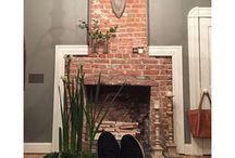 hearth of the home / fireplace