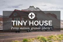 Tiny House / Vive la Tiny House ! Parce qu'un petit chez soi vaut mieux qu'un grand chez les autres, c'est bien connu. :) - par POSITIVR.fr