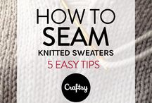 How to seam knitwear