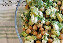 Vegetarian salad & meals