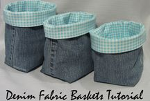 Denim Projects and Upcycling - Sew Boxes / Denim!