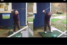 Before and after / This shows the comparison of swings before and after changes I make to their golf swings