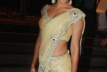 Lemon saree