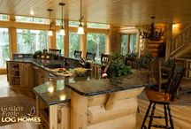 Kitchen -- Log Cabin
