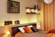 Pomysł na oświetlenie sypialni