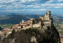 This is San Marino! / Every year, thousands of tourists flock to San Marino, a privileged point for observing the beautiful surrounding countryside. From the top of Mt. Titano breathtaking views can be enjoyed of the gently rolling hills of the Upper Marecchia Valley. You want more? Just Discover what's happening in San Marino as it is always something on the go in this country. / by Visit Europe