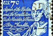 Postzegels Verenigde Staten / by rian Ravelli