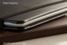 New Pad & Quill Products / Crafted leather Cases and Bags for all your favorite devices.