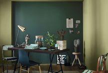 Tikkurila Color Now - SERENE (zielenie) / Zieleń to barwa głęboko osadzona w naturze.  W jej otoczeniu możemy cieszyć się chwilami pełnymi odprężenia i relaksu.   Wnętrza w odcieniach przyrody emanują naturalną harmonią i koją zmysły.