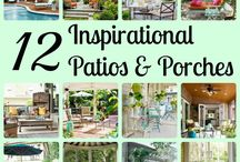 Patio Porch Ideas / by Jessica Roberts