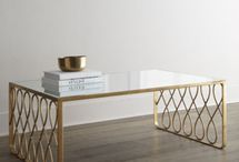 Objects . Tables . Metal & Marble