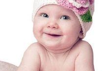 Virkad hatt, baby hat