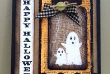 Halloween Cards / Cards for Halloween. Some easy, some complicated.
