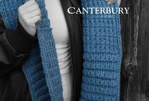 Winter Warmer Pattern Collection / To keep you warm! Harrisville Design's Winter 2014 Patterns. Recommended: WATERhed Yarn. #knitting #knittingpatterns