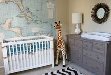 Nursery / Mood board for baby nursery / by Hally Michelle