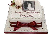 Annervisary cake