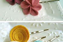 Hair - Pretties / Bows, ribbon sculptures, flowers, headbands, etc. / by Laurie Mason