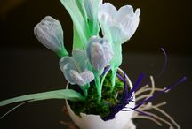 natural decoration, up-cycled items / all you can do at home, nothing plastic, all natural
