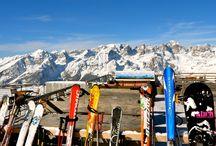 Sciare ad Andalo in Paganella, Trentino, Italy / Paesaggi mozzafiato su uno dei comprensori più panoramici del Trentino