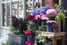 French flowershop / French