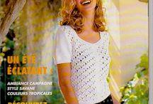catalogues complets tricot et crochet