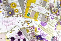 Dovecraft Nature's Grace / Introducing you to our latest collection from Dovecraft, Nature's Grace, designed by the wonderful Stephanie Davies. With its beautifully illustrated papers and range of matching embellishments, we have totally fallen in love with this stunning collection and we think that you will too!