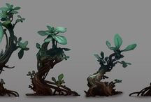 Environments: Plants and trees / by Brent Fox