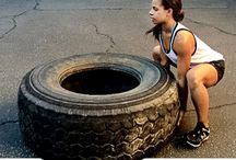 Tire Workouts / Tire Workouts, Fitness with Tires, Tractor Tire Flipping, Tire Flipping / by Slap Dash Mom (social media + blogging)
