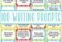 writing / templates, writing ideas