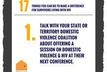 17 Things You Can Do To Make a Difference for Survivors of DV and HIV / Over 17 weeks – between National Women & Girls HIV Awareness Day (March 10) and National HIV Testing Day (June 27), NNEDV shared 17 Things You Can Do to Make a Difference for Survivors Living with HIV. We chose these two awareness days to recognize the impact of HIV on victims of domestic violence, particularly women and girls, and to help end the stigma of HIV by encouraging others to get tested on National HIV Testing Day.