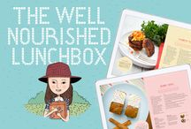 The Well Nourished Lunch Box / Healthy Nutritious Lunch Box recipes (and family meals that double are also great for the lunchbox)