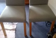 great chairs,use as is,have recovered,see listing