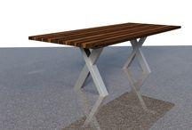 Esstische und Esszimmertische / Exklusive in Handarbeit hergestellte Esstische mit einer Massivholzplatte made in Germany.