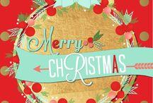 christmas, santa, snow