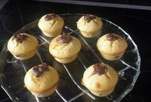 Muffin au chocolat et Nutella