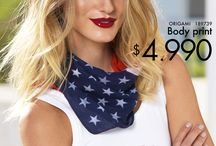 Campaña American flag