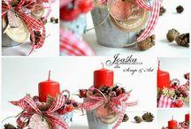 свечи в декоре