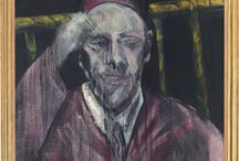 School of London / A term coined by R.B Kitaj to describe a group of London based artists pursuing forms of figurative painting in the 70s. Discover our selection of archival material, works by and portraits of it's members including Francis Bacon.